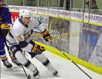File photo Parker Saretsky, who has played for the Spruce Grove Saints over the last two seasons, has committed to play for the Michigan Tech. University Huskies in 2019.