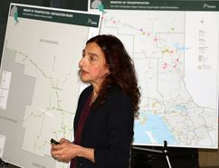Planning engineer Manon Kasim with the Ontario Ministry of Transportation said Ontario is spending hundreds of millions of dollars each year to repair and rehabilitate Northern Ontario highways, bridges and culverts. And while she said they are getting a lot of work done, they have to work within the constraints of a budget. Kasim was a keynote speaker at the spring meeting of the Northeastern Ontario Municipal Association (NEOMA) that was held in Iroquois Falls on Friday.
