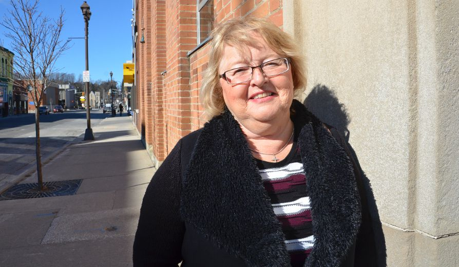 Barbara Wright was bullied on the phone by someone claiming to be from the Canada Revenue Agency, who said she owed more than $5,000 and would be arrested. She told her story to The Sun Times on Saturday. (Scott Dunn/The Sun Times)