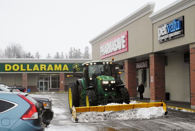 A Burlington-based real estate investment company purchased the White Horse Plaza on the south side of Simcoe last month for $15 million. Anchor tenants include Sobeys, Tim Hortons and Dollarama.  MONTE SONNENBERG / SIMCOE REFORMER