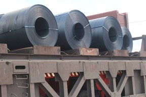 Steel coils. (Postmedia file photo)