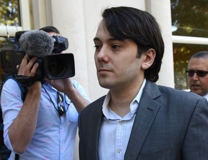 In this file photo taken on June 26, 2017 Martin Shkreli, the former Turing Pharmaceuticals executive arrives for the first day of jury selection in his federal securities fraud trial at United States District Court Eastern District of New York in Brooklyn. TIMOTHY A. CLARY/AFP/Getty Images