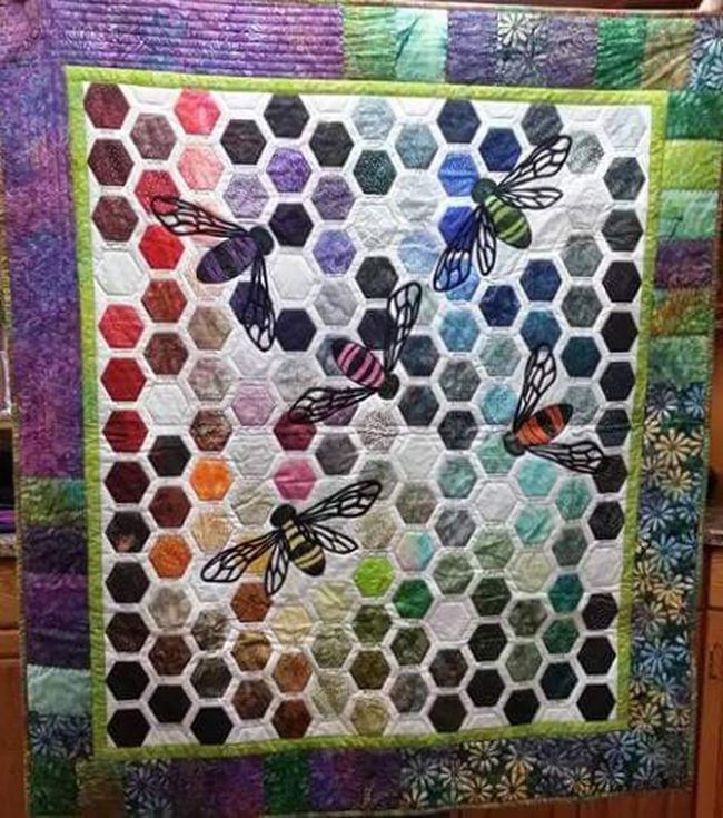 A raffle winner will receive this quilt (Submitted | Jennifer Sampson).