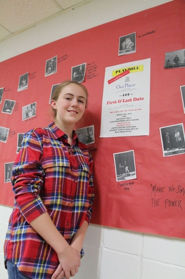 Melfort's Yvette Chester has written, is directing and staring in a play which is being staged this Thursday night and going to the regional drama festival this weekend in Tisdale.