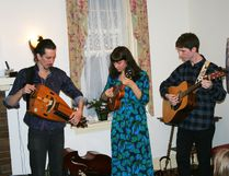 The concert at Miramichi House March 9 featured the trio Casati, Quintin Bart, Grace Hrabi and Jesse Popeski.