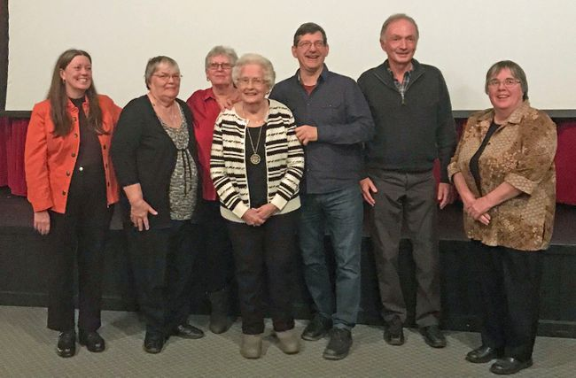 Submitted photo From left: Ruth Kelusky, Libby Davy, Karla Thompson, Marjorie Wilson, Mike Bossio, Paul Jenkins, and Mary Kavanagh.