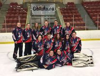 The Lacombe Edge U16 rebounded in the final game of provincials to bring home bronze. (Photo supplied)