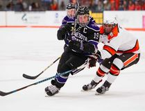 In his last season with Minnesota State's men's hockey team, Brad McClure is starting to reflect on a successful collegiate career. (Minnesota State Athletics photo)