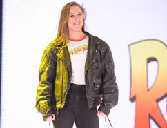 World Wrestling Entertainment superstar and MMA legend Ronda Rousey will make her WWE debut in a match featuring Kurt Angle, Triple H and Stephanie McMahon at WrestleMania 34 in New Orleans on April 8. Rousey signed with WWE following an iconic and dominant UFC and MMA career. (Photo courtesy of World Wrestling Entertainment)