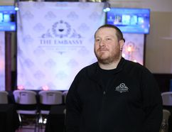 Travis Blackmore, organizer for the Embassy Cafe, is pictured in Kingston, Ont. on Saturday February 24, 2018. Meghan Balogh/The Whig-Standard/Postmedia Network