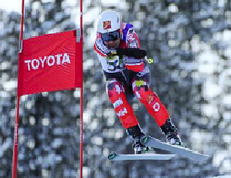 Kirk Schornstein competes at the World Para-Alpine Skiing World Cup Finals in Kimberley, B.C. - Photo supplied