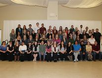 Some recipients of awards at the Cumberland College Awards ceremony