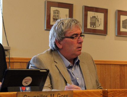 Coun. Dan Reynard at the Tuesday, March 20 regular meeting of council. KATHLEEN CHARLEBOIS/DAILY MINER AND NEWS