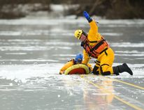 The Melfort Fire Department is close to raising enough money for ice/water rescue equipment like this.