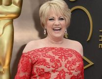 This March 2, 2014, file photo shows Lorna Luft at the Oscars in Los Angeles. Singer Luft, the daughter of Judy Garland, collapsed backstage after a concert in London, Friday, March 9, 2018, and was rushed to the hospital, where she was undergoing tests, a representative said.Jordan Strauss / Jordan Strauss/Invision/AP