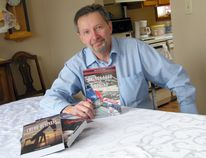 Exeter's Rick Hundey has just released Things Left Behind, the latest in his series of Jack Beer mystery books. (Scott Nixon/Exeter Lakeshore Times-Advance)