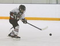 Hawk Dryden Scobie scores early in the second period to tie the game at 3-3 during the deciding game of the final of the Tier 5 West playoffs of the Central Alberta Hockey League. The Hawks lost 7-5 to Beiseker at the Vulcan District Arena. Jasmine O'Halloran Vulcan Advocate
