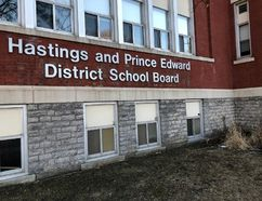 BRUCE BELL/The Intelligencer The Hastings and Prince Edward District School Board awarded a $1.92 million contract to K. Knudsen Construction for needed renovations at Prince Edward Collegiate Institute.