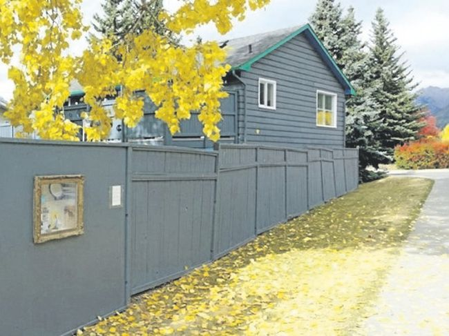 A Fall exhibit from the Curbside Museum in Canmore. Supplied