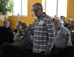 <p>John McMartin was one of several critics who took the SD&G Historical Society's board of directors to task for its decision over the past year at the group's AGM on Saturday, March 31, 2018, in Cornwall, Ont.</p><p> Alan S. Hale/Cornwall Standard-Freeholder/Postmedia Network
