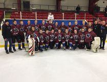 The St. Anne's Girls Hockey team did exceptionally well this year, earning silver medals at the OFSAA Championship in Timmins late last month. The girls would like to appreciate all the sponsors and donors that helped make their journey possible! (CONTRIBUTED PHOTO)