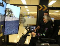 <p>Labour Minister Patty Hajdu tries her hand at using a simulator during her visit to the Operating Engineers Training Institute of Ontario to announce almost $1 million in federal funding on Wednesday April 4, 2018 in Morrisburg, Ont. </p><p> Alan S. Hale/Cornwall Standard-Freeholder/Postmedia Network