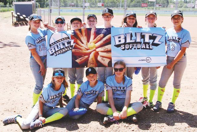 The Beaumont Blitz Fastball Association held winter skills development camps since January, and has started up registration and indoor practices this month. Next month, the girls' season will kick off.