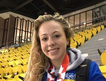 Fort water polo player Lindy Justice is proud of her national silver medal which she and her Team Alberta A won during the Senior Water Polo National Championships in Montreal in late March. She'll next compete at the U19 Western Canadian Championships on April 20-22 in B.C.