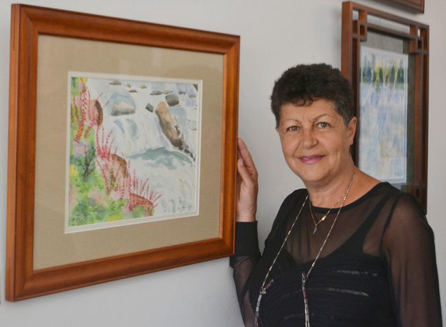 As the latest local artist to be showcased at The Gentry, Nora Hagen will be donating the proceeds from any sales of her water colour landscapes to Results Canada to help those living in poverty around the world.