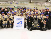 With the provincial championshio in the bag, the Lacombe Generals are looking to make another return to the Allan Cup - and hopefully bring that championship to Lacombe for the first time since moving from Bentley for the start of last season. (Ashli Barrett/Lacombe Globe)