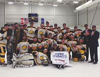 The senior men's Palominos recently won the Ranchland Hockey League. Submitted photo