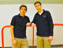 Holy Trinity's Theo Hill and Dylan Robinson were taken in the Ontario Hockey League's Priority Selection on Saturday. Hill went 99th overall to Sarnia while Robinson was chosen 45th by Windsor. JACOB ROBINSON/Simcoe Reformer