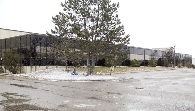 300 Sovereign Road is about to become a marijuana processing plant in London, Ont. (Derek Ruttan/Postmedia Network)