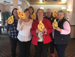 Handout/Cornwall Standard-Freeholder Attendees at the Ignite the Spark seminar held at the legion on Saturday to encourage more local women to run for political office.