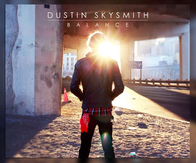 The cover of local singer/songwriter Dustin SkySmith's upcoming album, Balance, which will be available for download on May 4. Submitted image