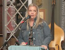 KASSIDY CHRISTENSEN HIGH RIVER TIMES/POSTMEDIA NETWORK. Jody Seeley speaks to attendees during the April Community Café.