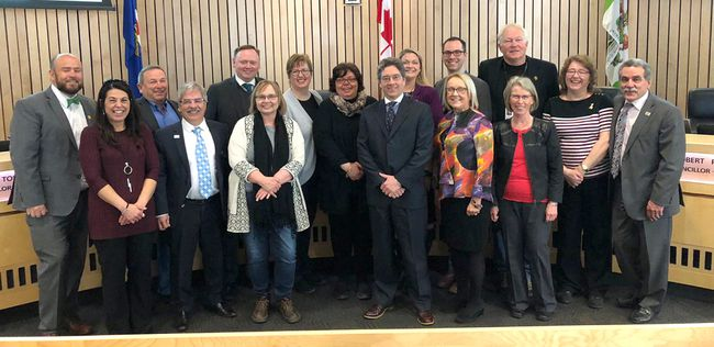 ouncil joined representatives from the Information and Volunteer Centre of Strathcona County on April 10 in recognition of the coming National Volunteer Week, from April 15 to 21.