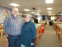 Cheeky Monkey co-owners Roland and Mary Anne Peloza will again be hosting local Record Store Day festivities at their Christina Street record store beginning at 9:30 a.m. on Saturday, April 21. CARL HNATYSHYN/SARNIA THIS WEEK