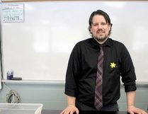 Fred Slukynsky teaches math and science at St. Mary's College.The Manitobe native played two seasons in the Saskatchewan Junior Hockey League.