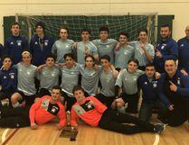 The St. Benedict Bears boys soccer team competed in two local indoor tournaments, earning a first and second-place finish. Photo supplied