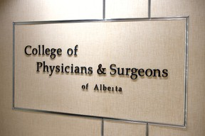 College of Physicians and Surgeons of Alberta  Shaughn Butts/Postmedia Network