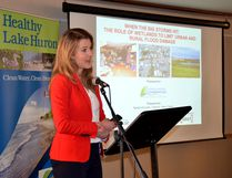 Keynote speaker, Natalia Moudrak, Director of the Infrastructure Adaptation Program, Intact Centre on Climate Adaptation. (CONTRIBUTED PHOTO)