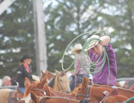 Carman Valley Leader reporter Emily Distefano was named MCNA Photographer of the Year for shots like this one from Miami's Fair and Rodeo. (FILE)