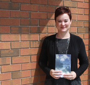 Sarnia romance writer Jennifer Suzanne has written the sequel to her first novel, entitled Whatever It Takes. CARL HNATYSHYN/SARNIA THIS WEEK