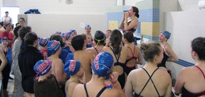 Swimmers from across the region took part in the Titans Invitational Swim Meet at the North Bay YMCA Pool on the weekend. Submitted Photo