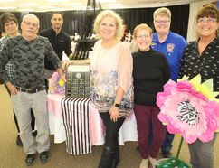 <p>The volunteer appreciation committee in South Stormont, including chair Tammie Grant (middle), taking a short break near the Eiffel Tower on Thursday, during preparations for Friday's award gala. Photo on Thursday, April 19, 2018, in Long Sault, Ont. </p><p> Todd Hambleton/Cornwall Standard-Freeholder/Postmedia Network