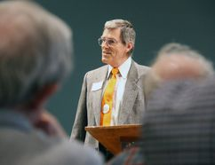 71-year-old Michael O'Brien won the uncontested nomination for the party Thursday