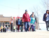 The street in front of Brunswick School is crawling with people and vehicles three times a day so the school is looking for enhanced safety features.