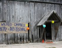 The third annual William Wilfred Campbell poetry festival was held at the Bluewater Outdoor Education Centre barn near Oliphant in June 2016. Festival founder and director Paul Kastner has announced his retirement at 91. Photo by Zoe Kessler/Wiarton Echo