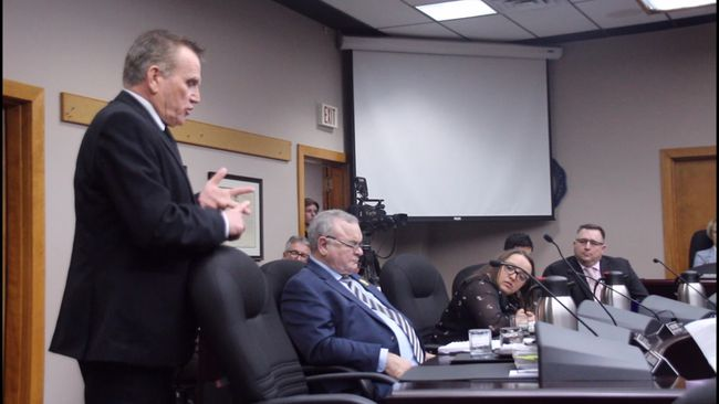 Coun. Mark MacDonald stands by his comments in a series of inflammatory emails which caused his fellow councillors to lodge a complaint against him.